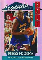 2018-19 NBA Hoops Legends of the Ball #LEG-20 Shaquille O'Neal LA Lakers