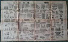 Pub affiche - SLINGSBY - Chariot Brouette Diable Voiture à bras... - Années 1900