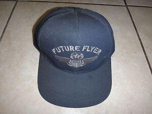 États-Unis Air Force Futur Dépliant Chapeau Avec Casquette, Fabriqué En USA Neuf