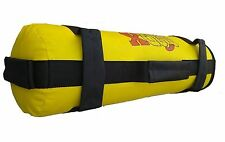 MADX Power Panno / Sabbia Non Riempita BAG CROSSFIT BOXE MMA TRAINING FITNESS GIALLO