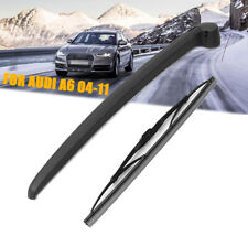 Windshield Rear Wiper Arm & Blade Set FOR Audi A6 Avant C6 4F Estate 2005-2011