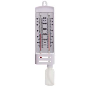 Masons Hygrometer C&F Wet & Dry Bulb Weather Air Humidity Moisture - 13/222/3