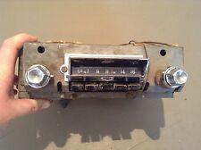 1959 1960 Chevy Radio used original condition Chevrolet Part# 987891 knobs