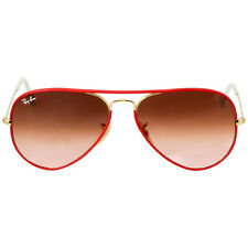 Ray-Ban Men's Aviator Sunglasses Arista Pink Gradient RB3025JM 001/X3 58