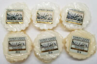Yankee Candle Tarts: WINTER GARDEN Wax Melts Lot of 6 White New
