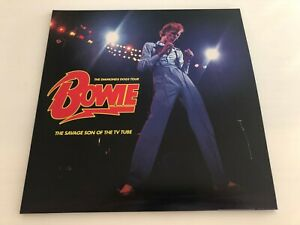 DAVID BOWIE - THE SAVAGE SON OF THE TV TUBE - RARE LIMITED COLOURED 2 LP