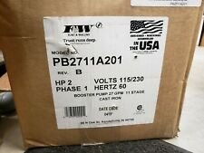 Flint and Walling Pump Pb2711A201 2Hp 3450Rpm Industrial Pumps Plumbing