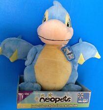 """Neopets Blue Scorchio Plush Serie 1 Jumbo Collector 11"""" Jakks Pacific New"""