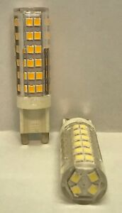 5 x G9 LED Bulbs 7Watt 700LM  220 – 240 V Cool White 6500K /  Warm White 3000K