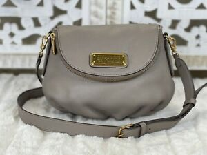 MARC BY MARC JACOBS Mini Q Natasha Taupe Leather Crossbody Bag Updated Version