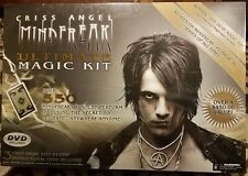 Criss Angel Ultimate Magic Kit Black 550 + Tricks with DVD's Rare 2009 Edition