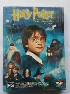Harry Potter and the Philosopher's Stone (2001) DVD Region 4 Brand New Free Post