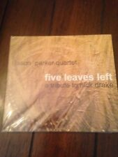 "Jason Parker Quartet ""Five leaves left..a tribute to Nick Drake CD NEW"