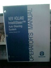 OM New Holland INtellisteer Auto Steering Auto Steering System Issue 9/06 (1B)