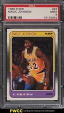 1988 Fleer Basketball Magic Johnson #67 PSA 9 MINT