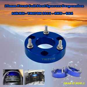 Lift Kit : 25mm Front Coil Strut Spacers Suspension - TRITON 2015 - 4WD - 4X4