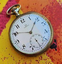 Omega Pocket Watch OVERSIZE 5990448 Cal 19 LB C1 54 mm 1900's Quadrante Ceramica