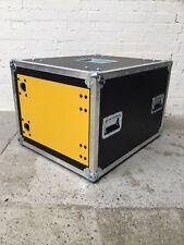 More details for 8u slide & slam shock mount rack case in hpl 600mm deep - ex demo #005