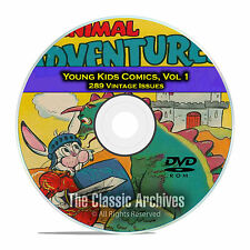 Young Kids Comics, Vol 1, Barnyard Comics, Goofy Comics Happy Golden Age DVD D50