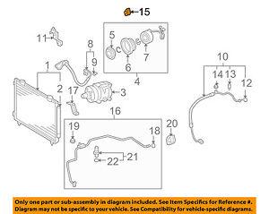 TOYOTA OEM A/C AC Condenser/Compressor/Line-Suction Hose Clamp 8871802160