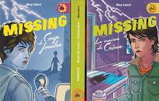 MISSING tomes 1 à 3 Meg CABOT livre jeunesse roman