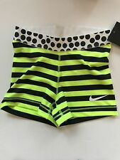 Nike Pro Shorts Size S 6 8 Running Camo Grey Black White Tight Fit Womens