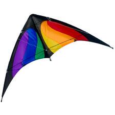 CIM Lenkdrachen NUNCHAKU Rainbow MUSTHAVE 140x70cm  Einsteiger Steuerleinen
