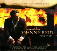 Fire It Up [Deluxe Edition] by Johnny Reid (CD & DVD)