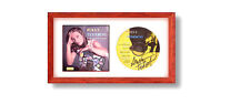 Hobby Frames CD Display Frame for Cover Sleeve & Disc: STAINS - REAL WOOD