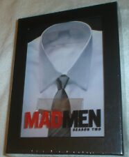 Mad Men - Season 2 (DVD, 2009, 4-Disc Set), New & Sealed, With Tie Bar, 13 Shows