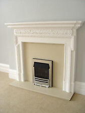 "large fire Surround 5ft 8"" x 4ft 7"" log burner stove not cast iron"