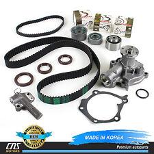 Timing Belt GENUINE Hydraulic Tensioner Water Pump Kit for Hyundai Kia 2.4L G4JS