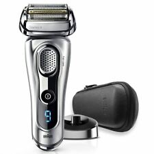 Braun Series 9 Men's Electric Wet & Dry Foil Shaver 9260PS + Case Charging Stand
