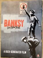Promotional Movie Flyer Banksy Does New York *NOT A DVD*