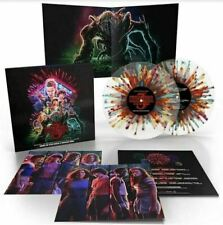 Stranger Things Season 3 Vinyl LP Soundtrack Horror Score (Fireworks Splatter)