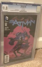 BATMAN #45 CGC 9.8! DC COMICS THE NEW 52! Slab And Book Beautiful Condition
