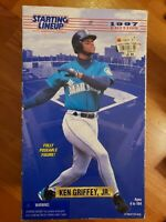 "Ken Griffey Jr. 1997 Kenner Starting Lineup Fully Poseable 12"" Figure"