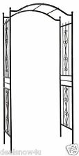 Southern Garden Decorative Arch Arbor Yard Backyard Wedding Trellis Scroll Accen