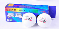 5 Boxes(15 Pcs)3* 40MM Olympic Table Tennis white Pisces brand china 2.8g new