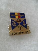 Authentic US Army 293rd Infantry Regiment DI DUI Unit Crest Insignia 22M