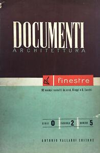 Documenti Architettura. Finestre