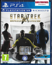 STAR TREK BRIDGE CREW - Playstation VR PS4 - NUOVO SIGILLATO