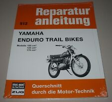 Reparaturanleitung Yamaha Enduro Trail Bikes 100 125 175 ccm³ Bucheli NEU!