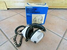 Retro Vintage HOSIDEN DYNAMIC STEREO HEADPHONES - JAPAN MADE - BOXED
