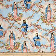 Fat Quarter Our Lady Of Guadalupe Cotton Quilting Sewng Fabric