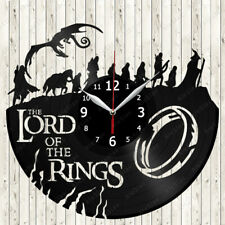 The lord of the Rings Vinyl Record Wall Clock Decor Handmade 2097