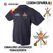 CAMISETAS TECNICAS: LEGION ESPAÑOLA - CABALLERO LEGIONARIO PARACAIDISTA M1