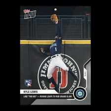 2020 MLB Topps Now KYLE LEWIS KEN GRIFFEY JR card #264 SEATTLE MARINERS Steal HR