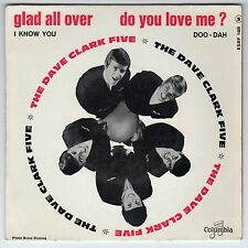 FRENCH EP THE DAVE CLARK FIVE GLAD ALL OVER COUMBIA ESRF 1489