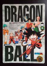 DRAGON BALL Z  OVERSIZE RARE COLLECTABLE CARD